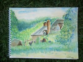 Cottage in Abergavenny by meeart