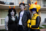 Homestuck: Alpha Trolls by Yonejiro