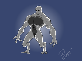 Shady Alien Guy by viral-reject