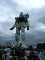 Giant Gundam by Bow-