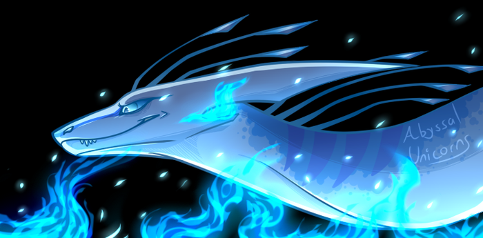 Blue Fire by anauspice