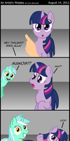 An Artist's Mistake (traducido) by innuendo88