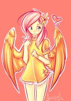 Fluttershy by Lacryel
