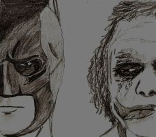 Batman and Joker by Jamin95