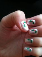 Christmas Nails by My-Life-In-Pictures