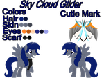 Commission | Sky Cloud Glider by BloodLover2222