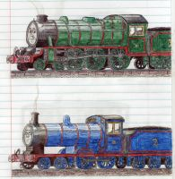 Schoolbook Sketches- Henry and Edward by 01Salty