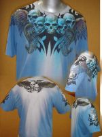 Skull Crest Shirt by kevinesque