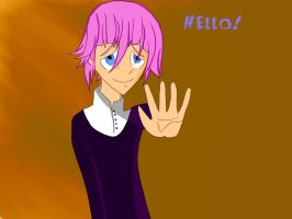 Crona saying hello. Also new facebook cover photo by metalogre56