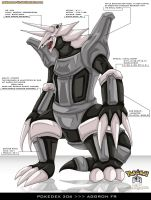 Pokedex 306 - Aggron FR by Pokemon-FR
