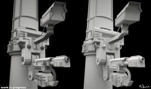 Security System WIP by jurX-CG