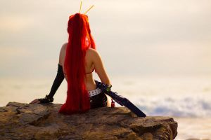 Yoko Littner : Sunset by vensii