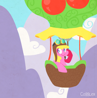 Cherry Berry Balloon by Coggler