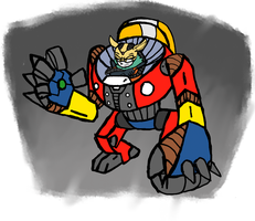 Thunderbolt the Tiny Titaness by ADay40