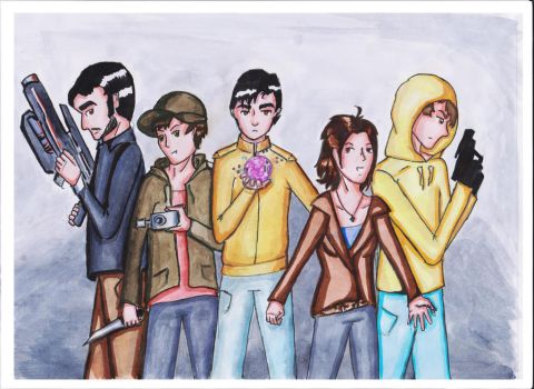 Marble Hornets team by AncileII