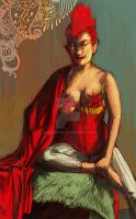 Dr. Sketchy: Torchy Taboo by OrangeCurl