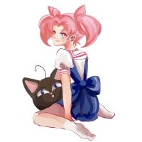 Chibiusa Sketch by DicentraOfTheEarth