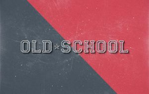Old-school-style-text-effect by jackson05234