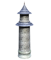 Castle Stock Parts #12 kingdom tower or lighthouse by madetobeunique