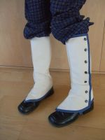Canvas Gaiters by Torenchiko-to