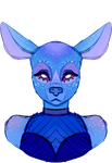 Ota Adopt Bust (CLOSED) by galaxyllama