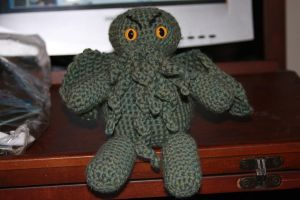Crochet Cthulhu by CreativeExcess