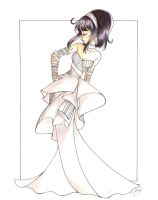 Saturn: Evening Dress by PinkPigtails