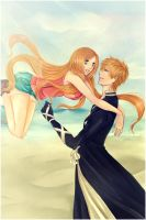 IchiHime: So happy to see you by Iwonn