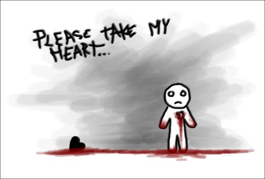 Please take my heart by gas-mask