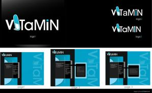 Vitamin-web presentation by DesignPot