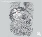 Vampire's Kiss by Al Rio at Teefury by AlRioArt