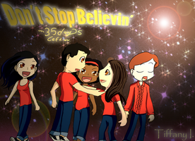 Glee - Don't Stop Believin' by iTiffanyBlue