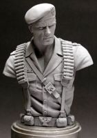 GI Joe 'Flint' bust by MonsterPappa