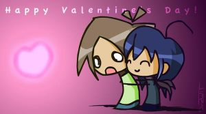 Chibified Valentines by AnDrew19787