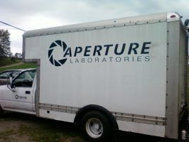 Aperture Laboratories Truck 2 by ChrisInVT