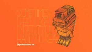 Droid Feelings: Gonk Droid by paperbeatsscissors