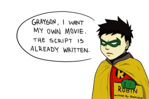 Damian's Own Movie by CrimsonHorror