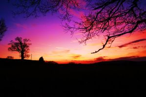 colourful sky by bendarby