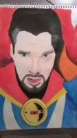 Benedict Cumberbatch as Doctor Strange by meerkat--love