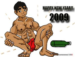 happy new year 2009 by hearmenowu2