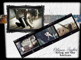 Oliver Sykes Wallpaper by xexplosionx