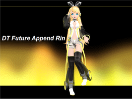 DT Future Append Rin by RinLenFan