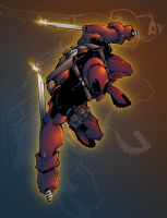 Deadpool by AlonsoEspinoza