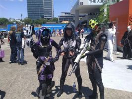 Mass Effect: Your Team by Sailor-Destiny