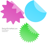 Web 2.0 Sticker PS Brushes by tycity