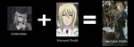 Undertaker + Viscount Druitt = Undertaker Riddle by The-Bloody-Hunter