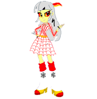 Carnival Cat Equestria Girls Vector by MathewSwiftMLP