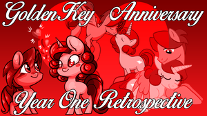GoldenKey Anniversary Thumbnail by GoldenFoxDA