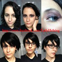 Bayonetta 2 cosplay  Make up test by JudyHelsing