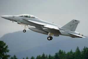 F-18F Takeoff by shelbs2